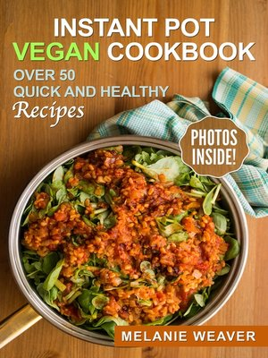 cover image of Instant Pot Vegan Cookbook